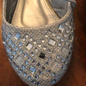 lucky top Shoes - Toddlers girls sparkly dress up shoes